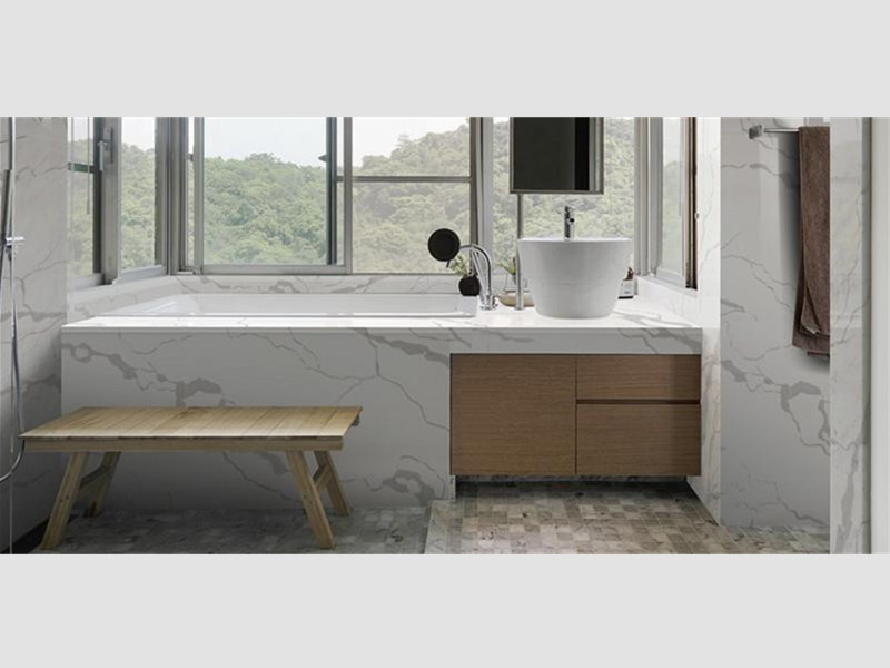Calacatta Quartz for Bathroom T​