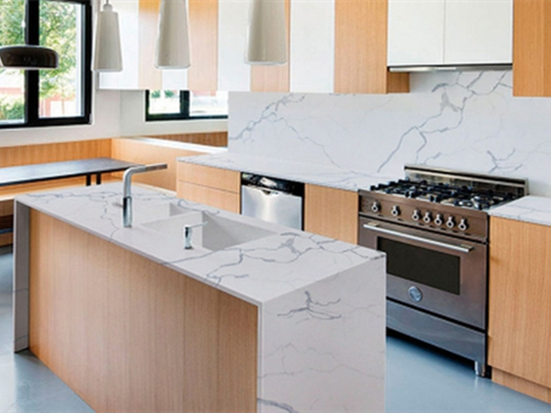 Statuario Countertop Kuarza TQ-SQ158