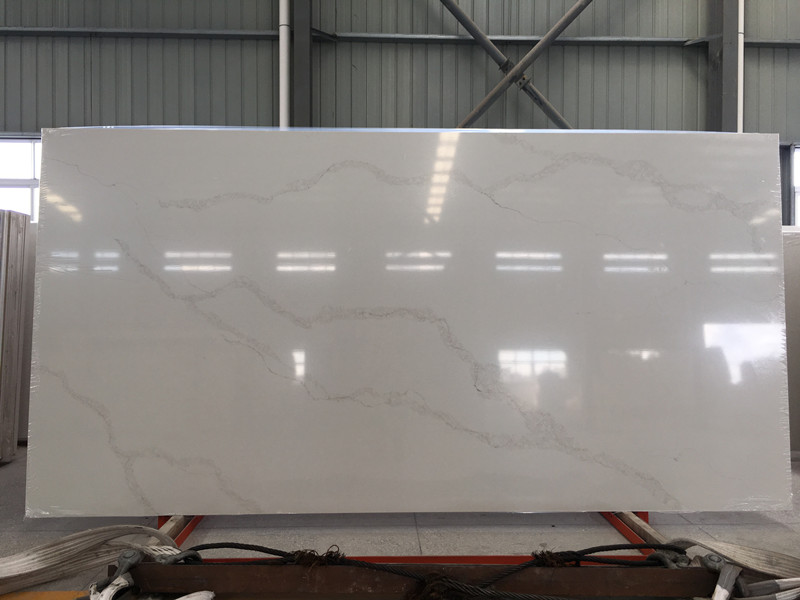 Calacatta White Quartz Slabs TQ​