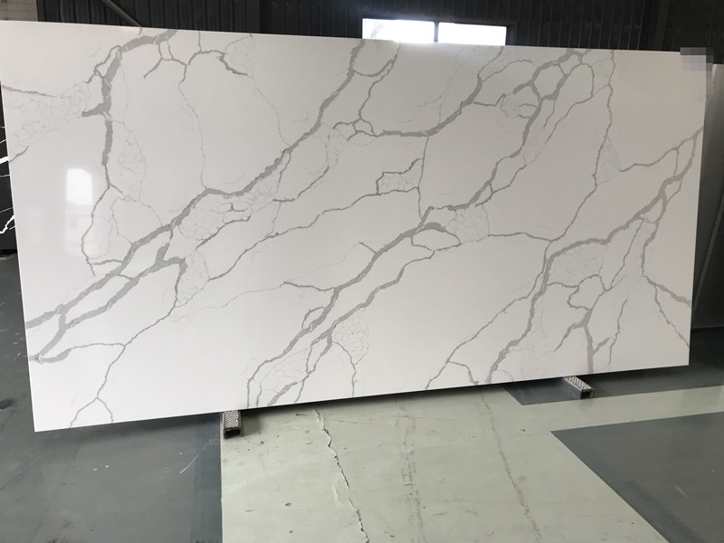 Calacatta Quartz Slabs Price TQ-NT636