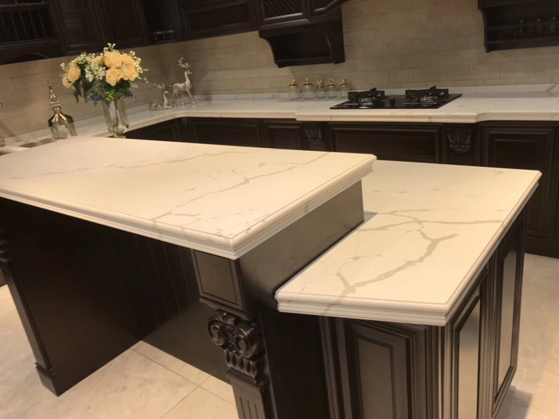 Top Calacatta Quartz Countertop​