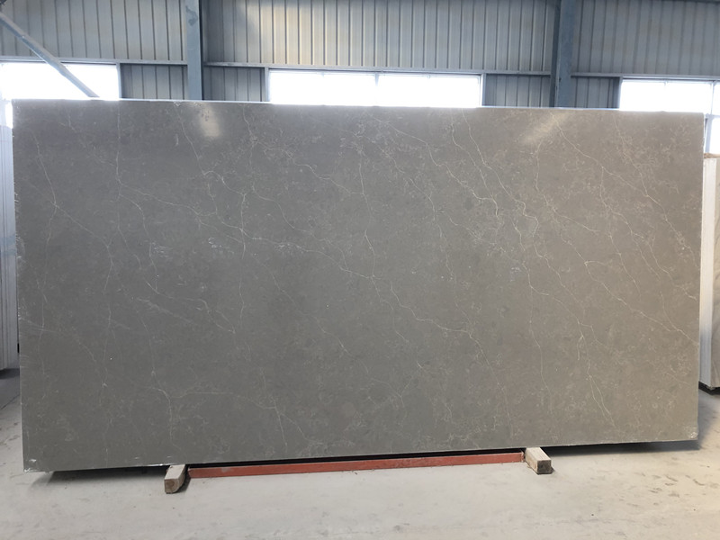 Quality Grey Quartz Slabs TQ-NT515