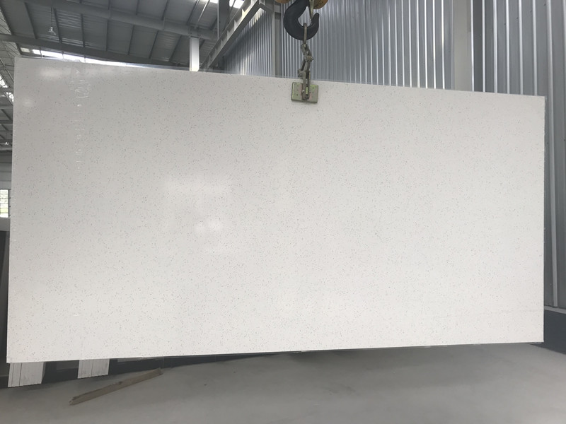 White Quartz Slabs TQ-5600
