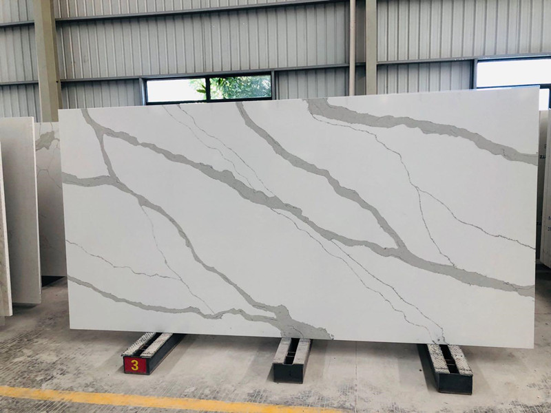 Quality Calacatta Quartz Slabs