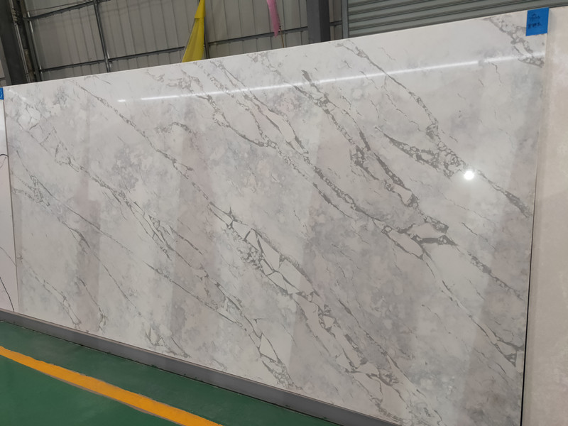Grey Quartz Slabs TQ-A5017