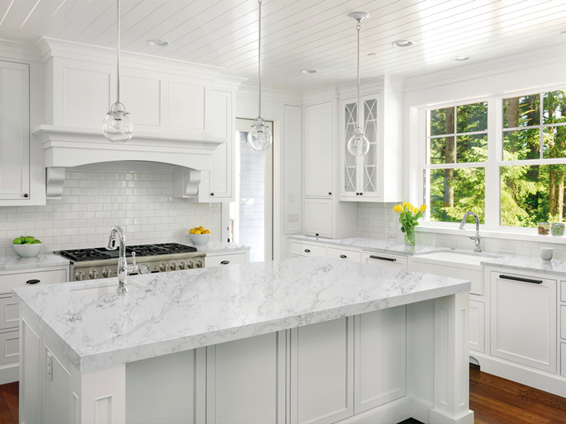 Kitchen with Quartz Countertops​