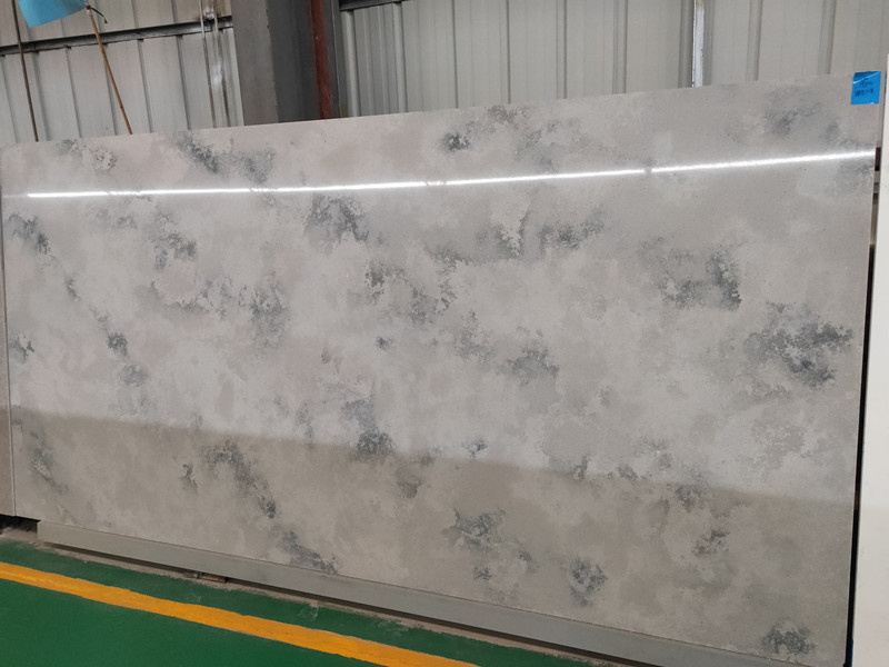 Polished Grey Quartz Slabs TQ-A​