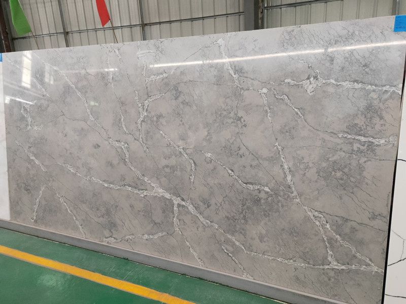 Grey Quartz Slabs Price TQ-A501​