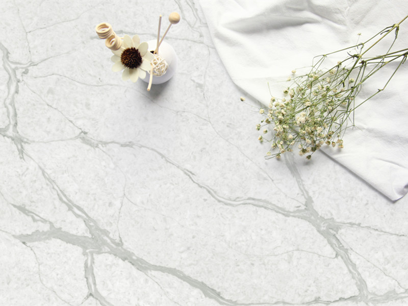 Calacatta Quartz Surface TQ-A5005