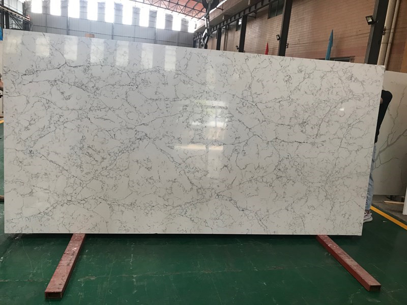 Best White Quartz Stone Slabs for Sale TQ-A5037