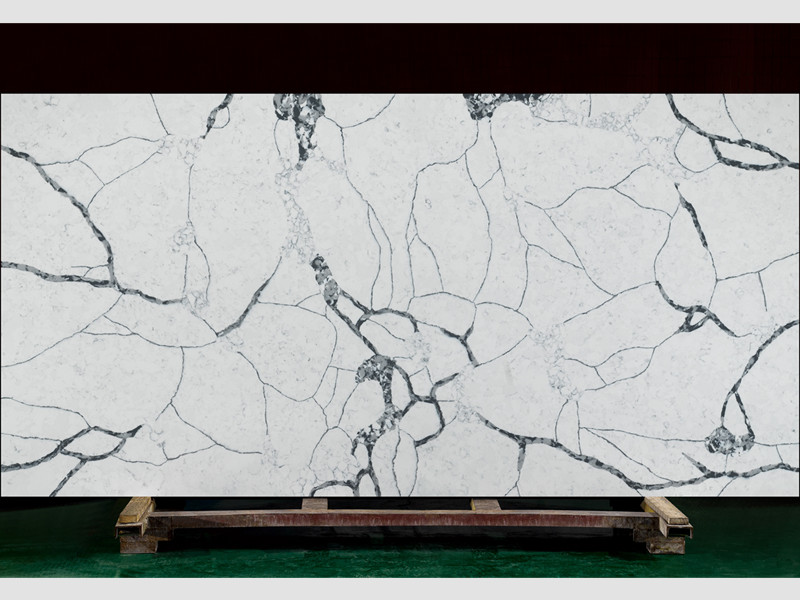 Multi Colors Quartz Slabs TQ-A5025