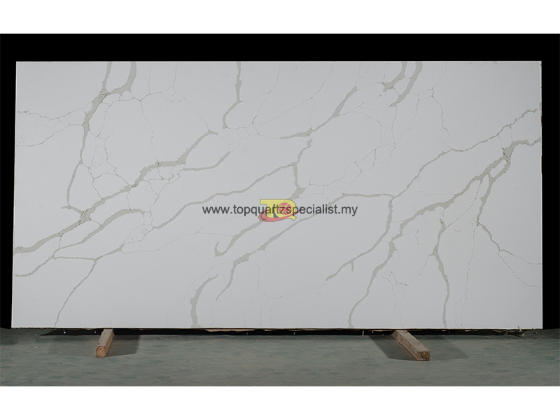 calacata quartz variety TQ-NT903 for quartz bathroom countertops