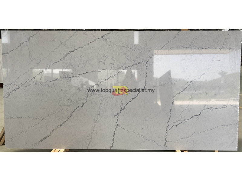 Grey calacatta quartz slabs Lon​
