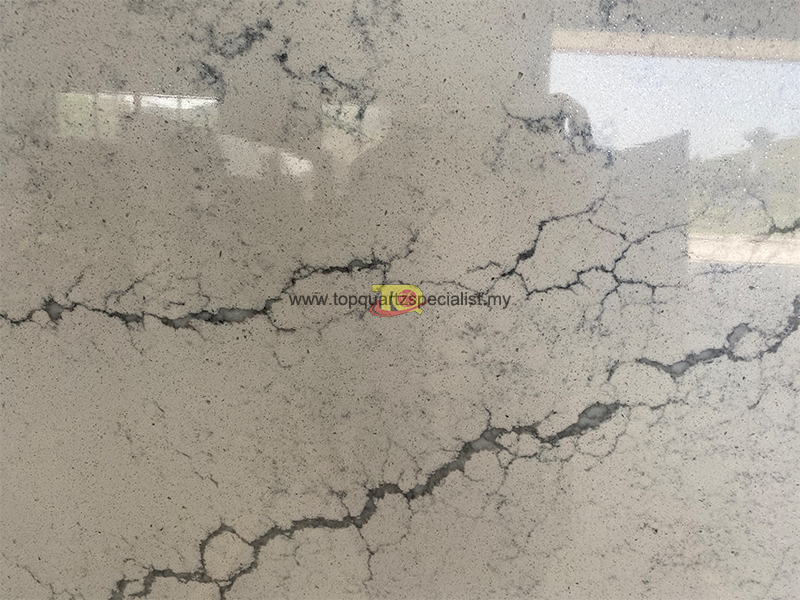 Crossed lines vein quartz tiles​