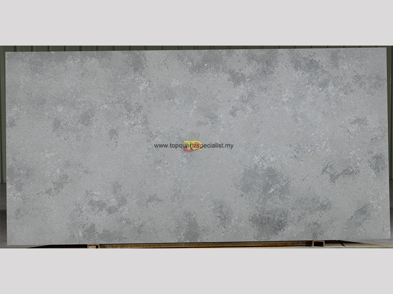 Ligh grey quartz slabs quartz k