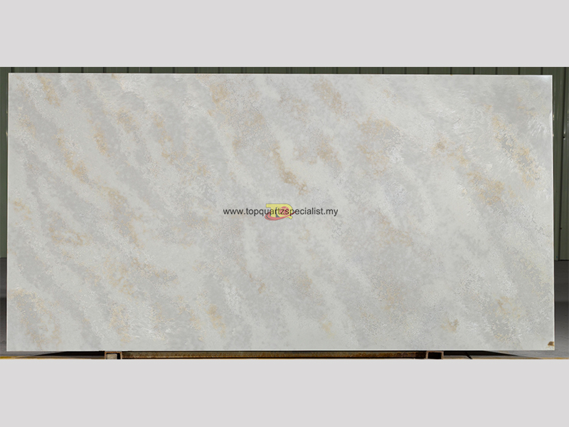 Water ripple pattern grey quart