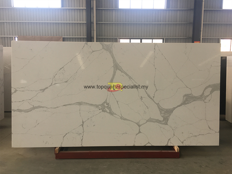 Selling calacatta white quartz ​