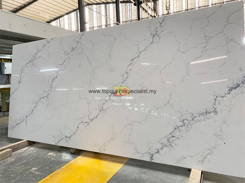 Quality white calacatta slabs n