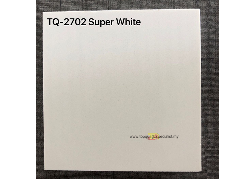 Quality supper white quartz tiles wholesale in good price TQ-2702