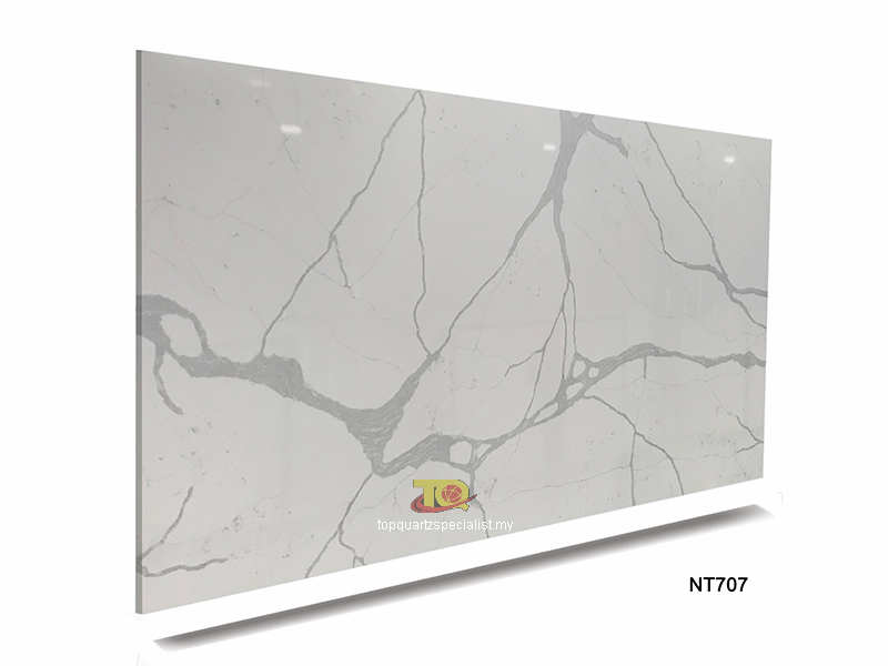 quartz stone slab for kitchen quartz countertop tiles suppliers TQ-NT707
