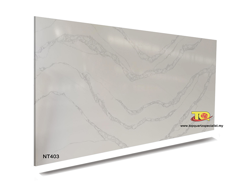 Engineered quartz countertops stone quartz slabs TQ-NT403 bulk sale