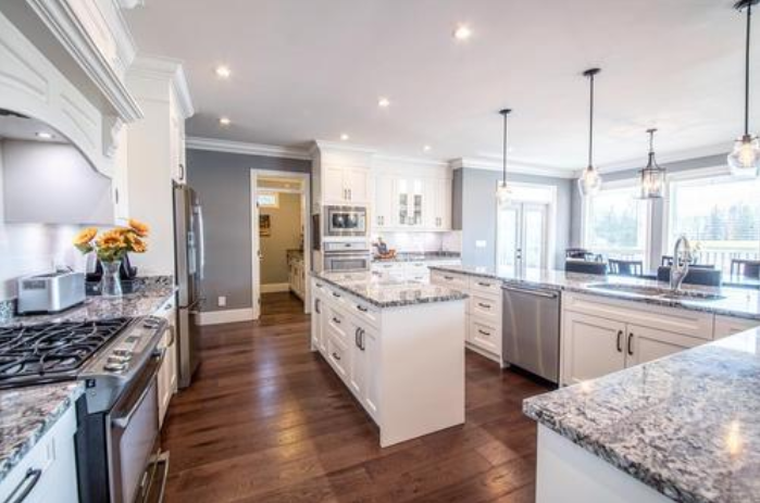 Why should you avoid on-site openings when installing stone countertops
