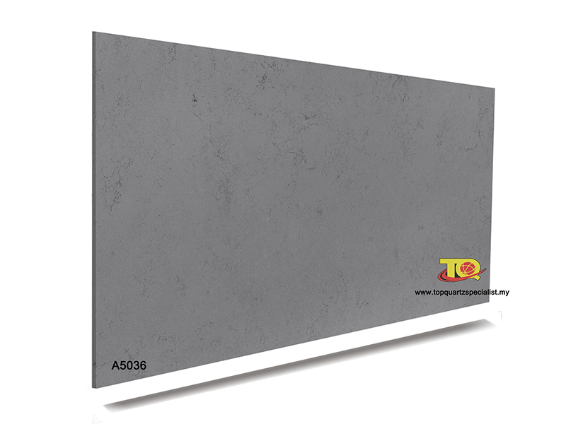 Quality pure grey quartz bottom