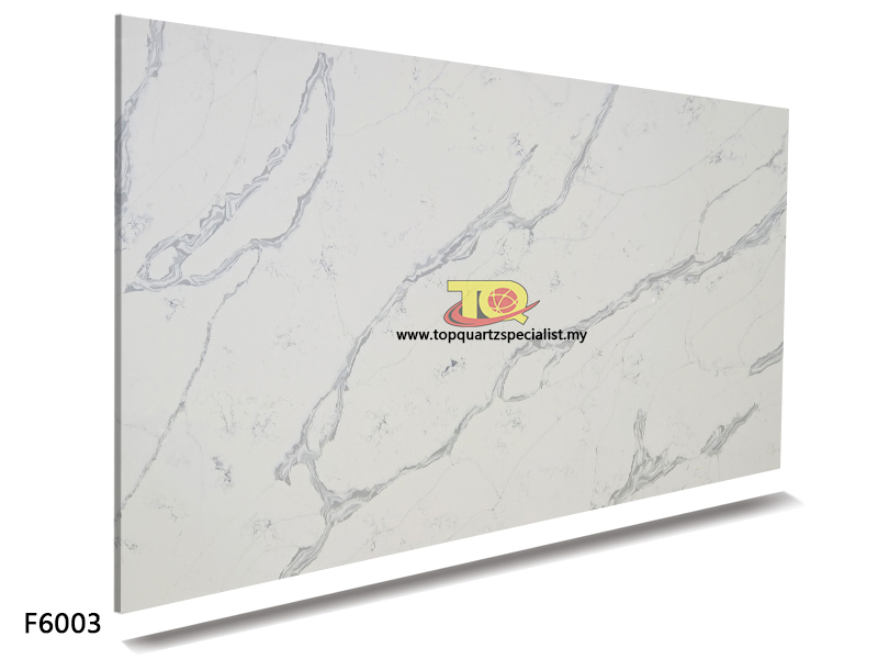 White grey quartz countertops c