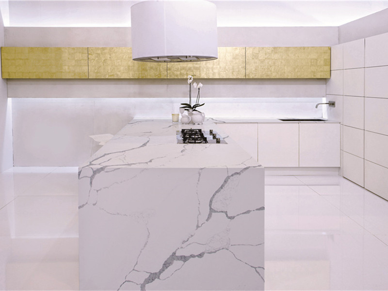 <b>Calacatta Flutter Quartz Projects</b>