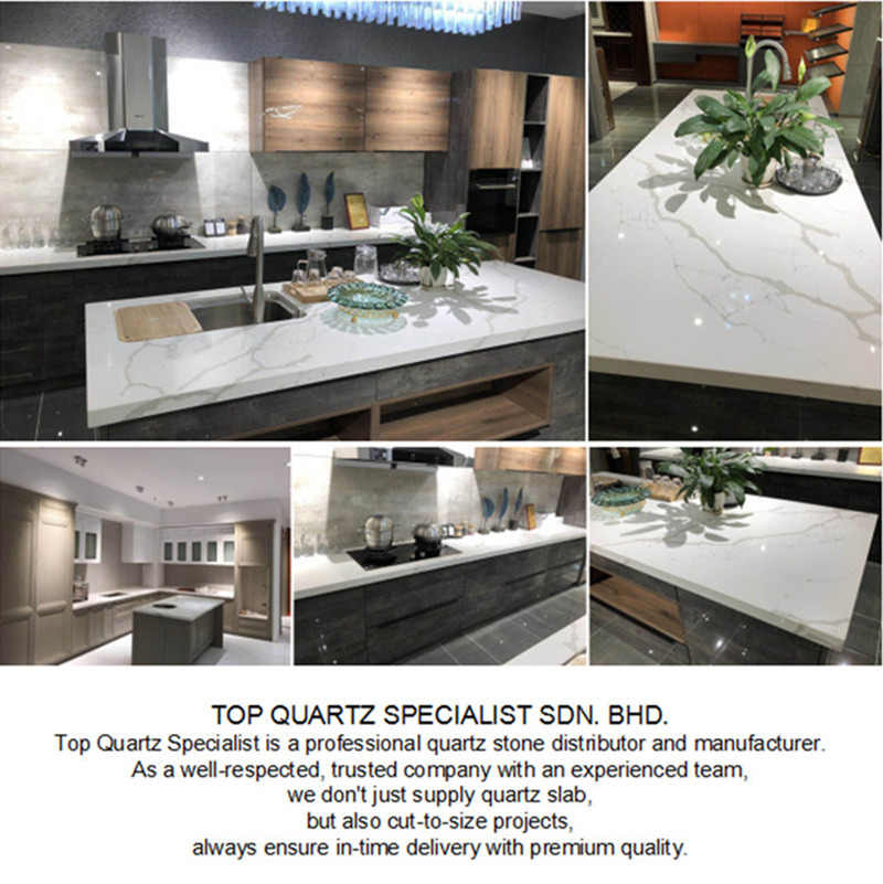 top quartz countertops project