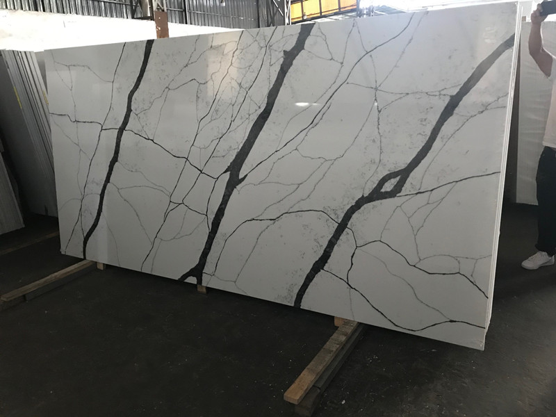 Beautiful Quartz Stone Slabs TQ-A5023